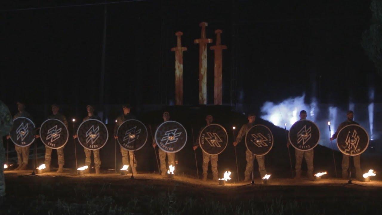 Под Мариуполем «Азов» провёл мероприятия в рамках дня памяти убитых карателей