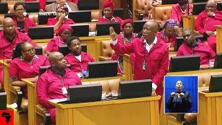 "CHAOS - Voting On Julius Malema's ""Winnie Mandela Airport"""