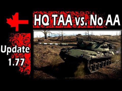War Thunder - Update 1.77 - HQ TAA Vs. No AA
