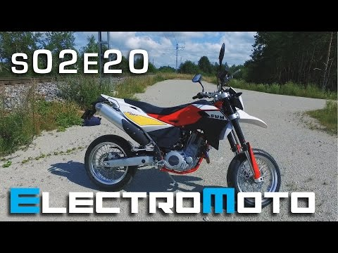 2016 SWM SM650R ride and review