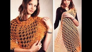 ШАЛИ КРЮЧКОМ - видео-уроки - 2018 / SHAWL CROCHET - video tutorials /Video-Tutorials