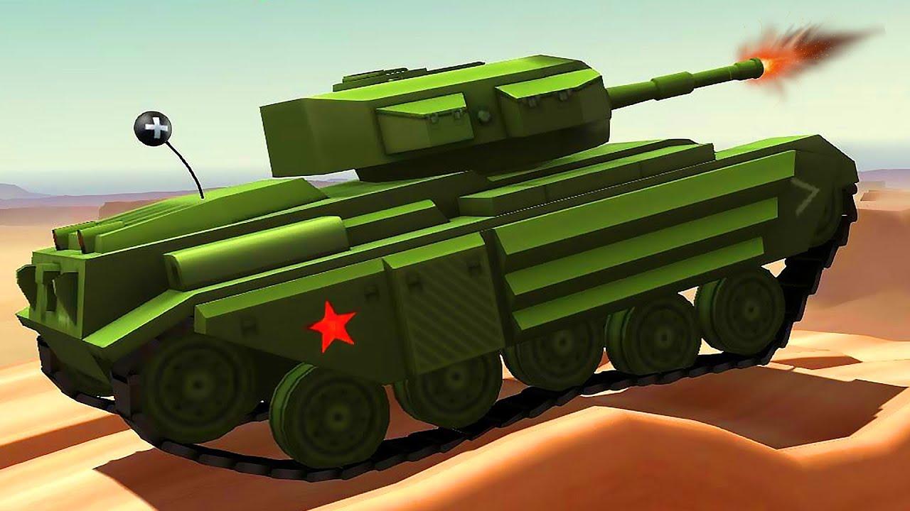 МАШИНЫ МОНСТРЫ #2 Игровой видео про машинки танки тачки ...