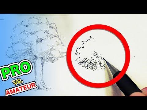 Japanese PRO vs Amateur A Simple Tree