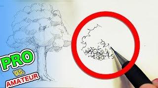 Japanese PRO vs Amateur|A Simple Tree