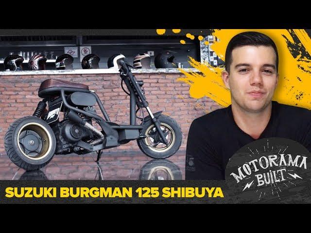 SUZUKI BURGMAN 125 SHIBUYA #1