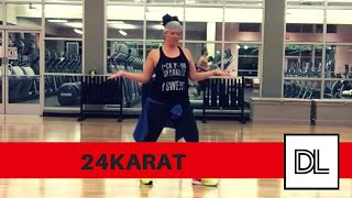 24K Magic by Bruno Mars || Easy, original routine for dance fitness, hip hop, or zumba class