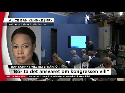 """Alice Bah Kuhnke vill bli språkrör: """"Vill och bör ta ansvaret"""" - Nyheterna (TV4)"""