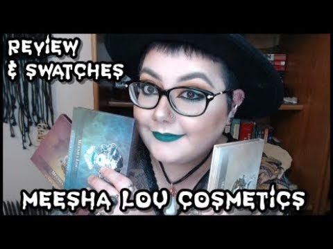 Meesha Lou Cosmetics | Review + Swatches