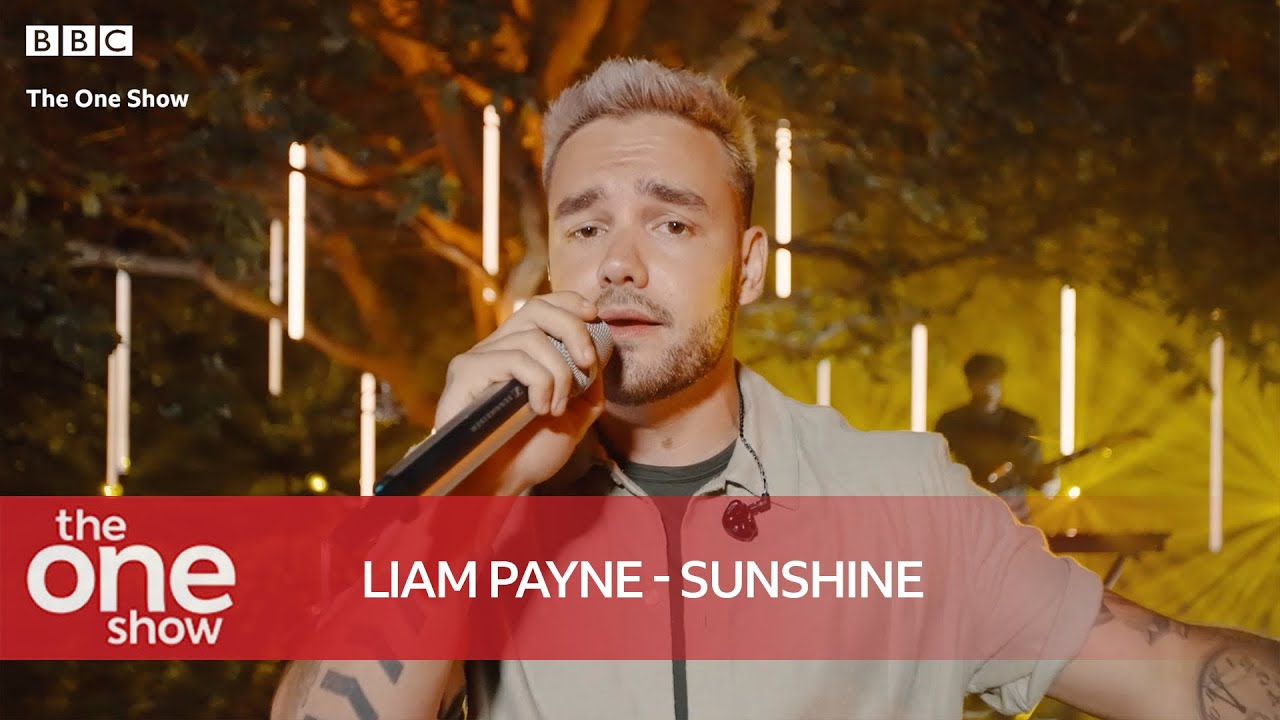 Liam Payne - Sunshine (Special Performance on The One Show)