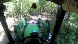 Oczami Traktorzysty John Deere 5080M #5  Przeprawa Przez Las