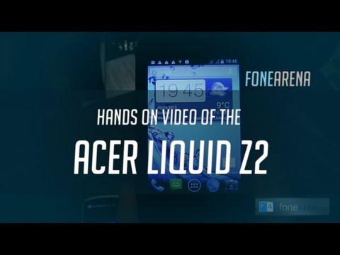 Acer Liquid Z2 Hands On