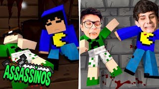Minecraft: ENTRAMOS NO MINECRAFT! (Assassinos)