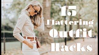 15 FLATTERING OUTFIT HACKS // Fashion Mumblr