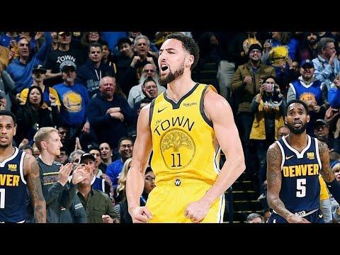 Klay Thompson Returns 39 Points vs Nuggets! 2018-19 NBA Season thumbnail
