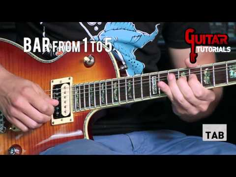 Another Day (Dream Theater) - Solo - Guitar Tutorial with Gabriele Motta