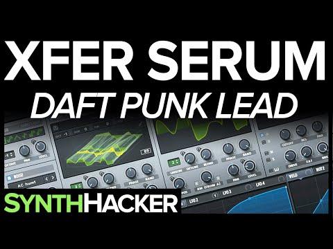 Serum Tutorial - Daft Punk 'Da Funk' Lead