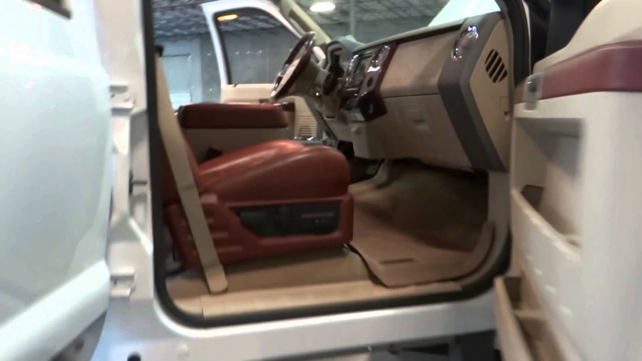 2008 Ford F350 King Ranch Super Duty: Stock #132 In Our Tampa Showroom - YouTube