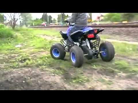 Квадроцикл cf moto X-4, начало эксплуатации. - YouTube