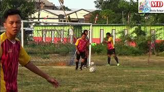 Penting Sportifitas Jangan T4wuran Sepak Bola Antar RT Desa Kedaton RT 14 vs RT 9 HUT RI ke 74
