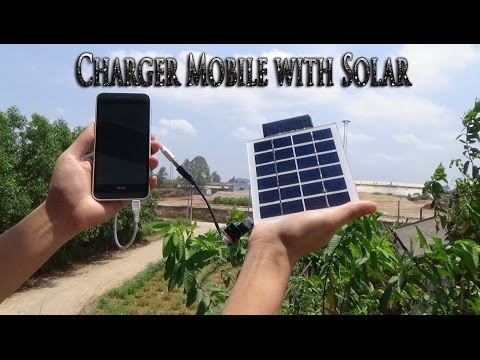 How to make USB Charger Mobile with Solar simple