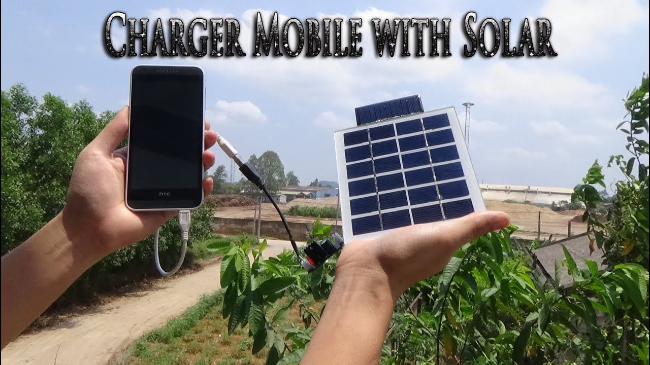 Solar Blumentopf How To Make Usb Charger Mobile With Solar Simple