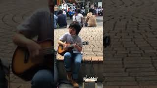 Kid in Taipei playing Classical Gas on Ukulele