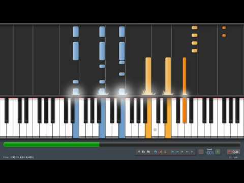 Coldplay - Yellow - Adrian Lee Version (piano tutorial)