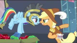 Rainbow Dash - Well it should be the Rainbow Dash Show! I'm the star!