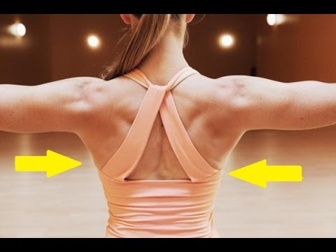 Exercises To Get Rid of Back Fat and Bra Fat Bulge!