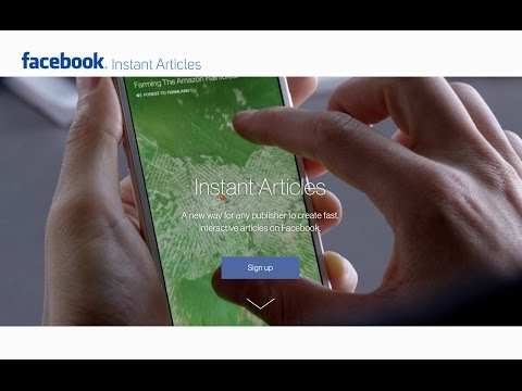 Guida a Facebook Instant Articles