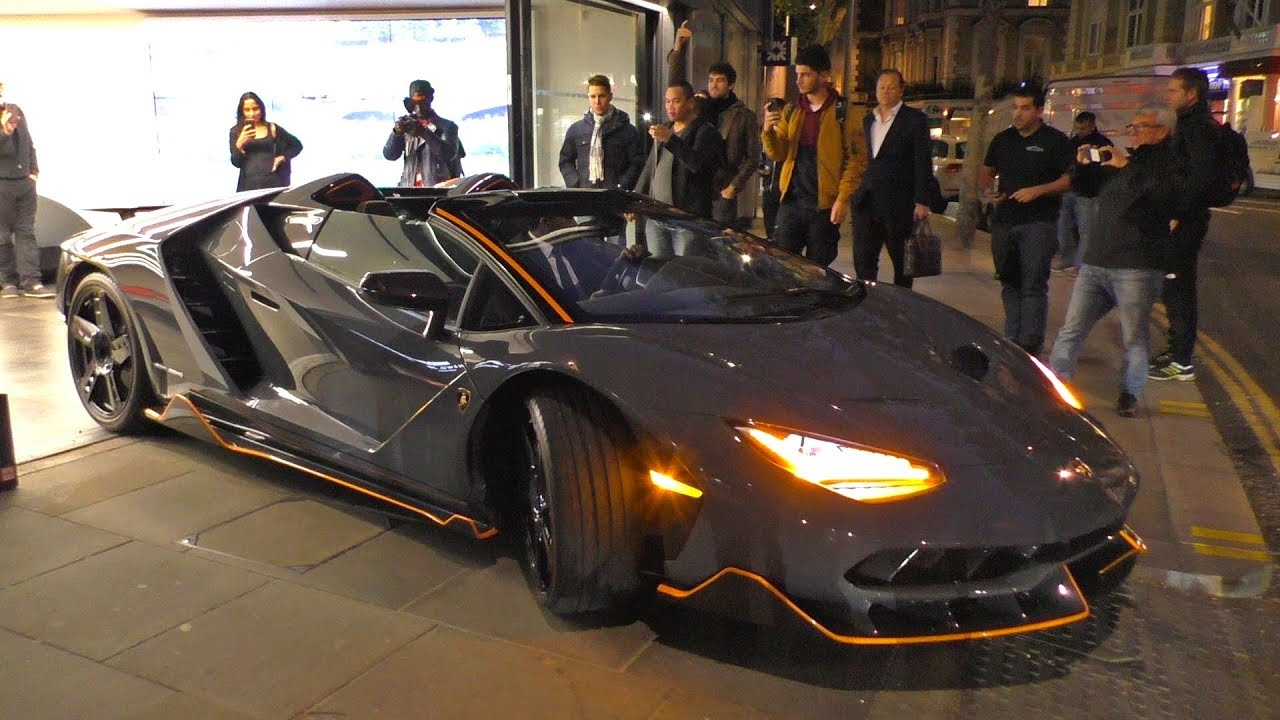 The Beast Has Arrived The 5million Lamborghini Centenario Roadster