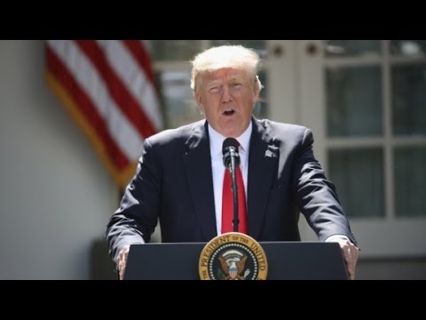 Trump: U.S. will withdraw from Paris climate accord