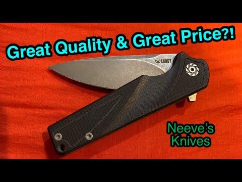 Kubey Ku233 Folder   Budget Knife Review
