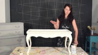 Creating the Gustavian Style - Part 3: Fixing Bleed Through