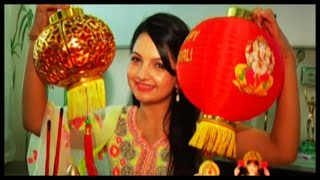 Giaa Manek Laxmi Poojan On Diwali