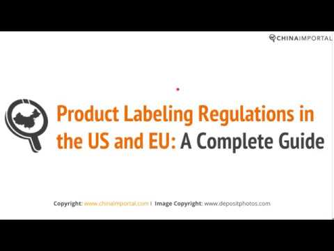 Product Labeling Regulations in the US, EU and Australia