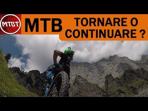 MTB salita killer tornare indietro o continuare All Mountain Walensee Switzerland St. Gallen - MTBT
