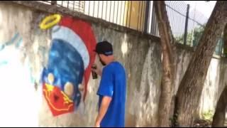 Personagem Azulão por Ignoto