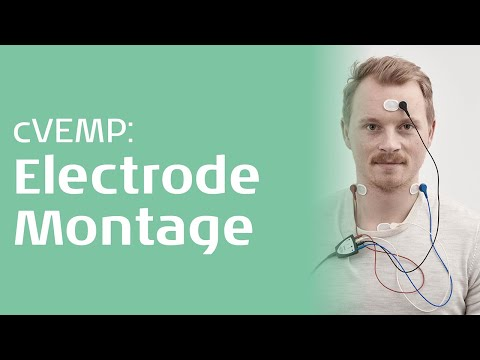 cVEMP - Electrode position