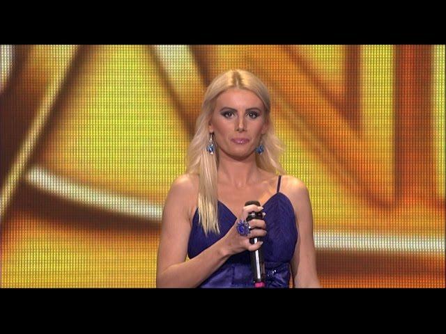 Bojana Vuksanovic - Zagrli, Nadji me - (live) - ZG 1 krug 16/17 - 26.11.16. EM 10