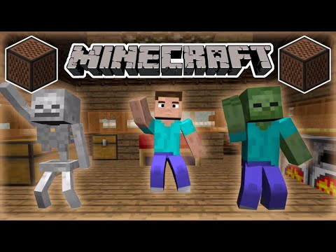 ♪ [FULL SONG] MINECRAFT Watch Me (Whip/Nae Nae) by Silento in Note Blocks (Wireless) ♪