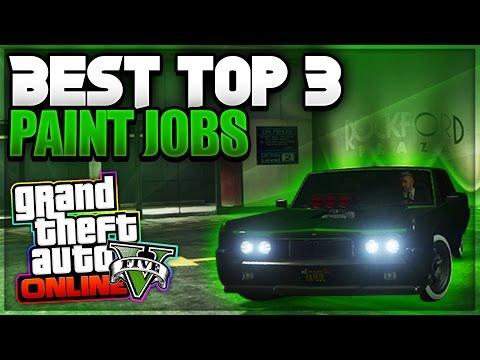 """GTA 5 Online - BEST GTA 5 Paint Jobs & Progen T20/Osiris """"Paint Jobs"""" (GTA 5 Paint Job Guide)"""