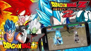 Nuevo Dragon Ball Z shin Budokai 2 Para Android/Mod Dragon Ball Super(zamasu-vegito ssj Blue)2016