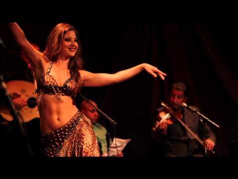 Nathalie Belly Dancing to Aziza