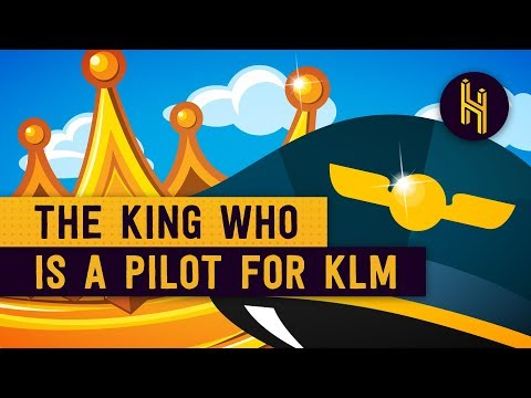 Why The Dutch King Works As A Pilot For KLM