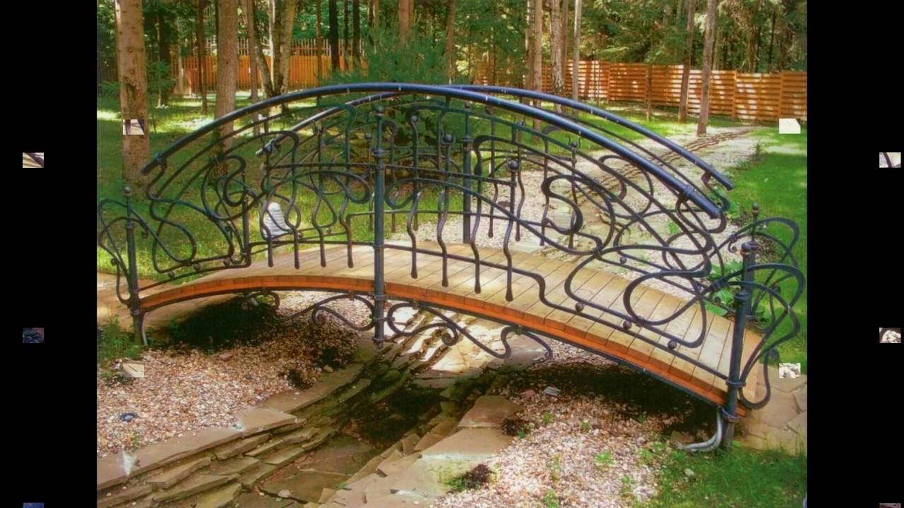 Кованые мостики – изысканный декор Вашего сада.. тел: +79268444929