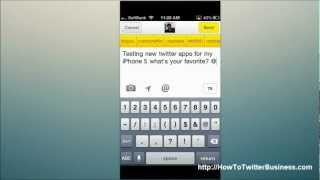 TWEETDECK Twitter For Business - Best Twitter Apps For iPhone 5