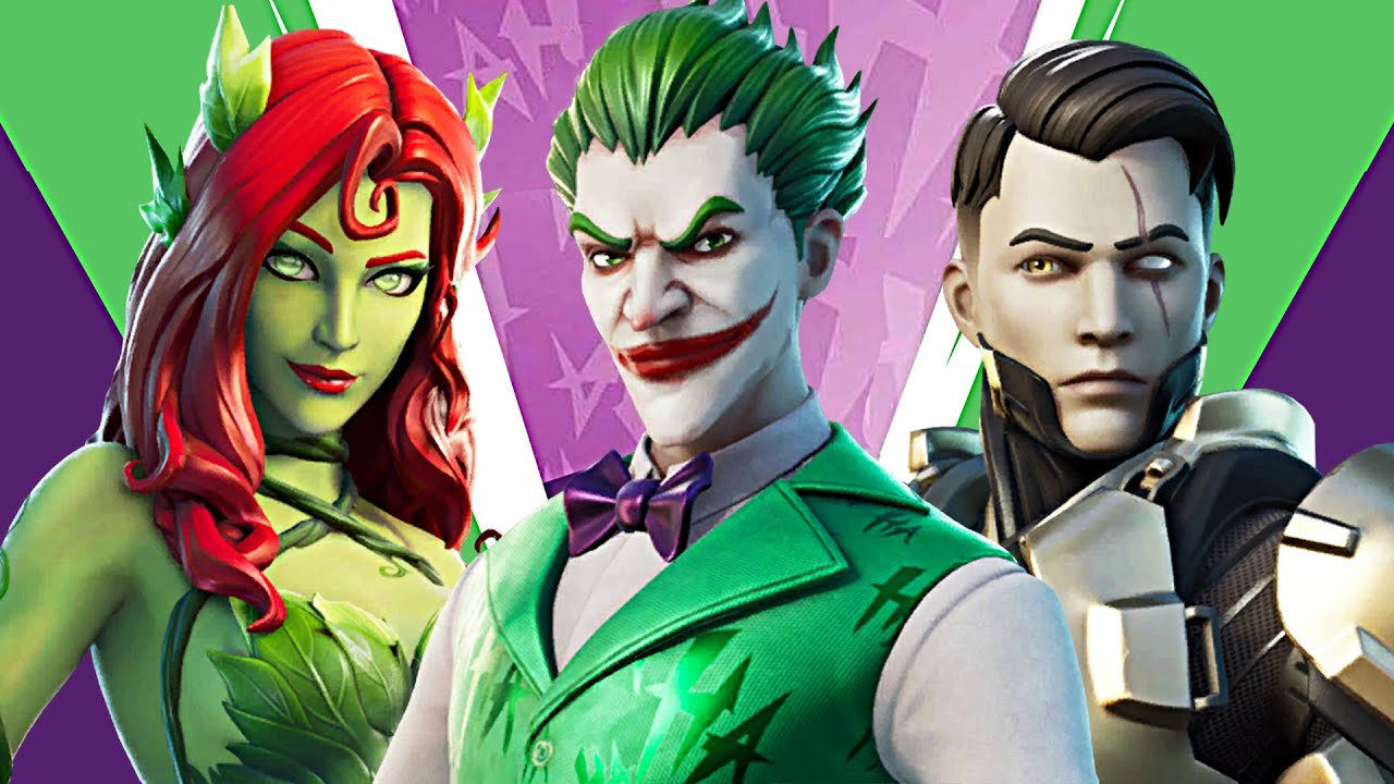 NEW UPDATE!! Joker, Midas Rex & Poison Ivy! (Fortnite Battle Royale)