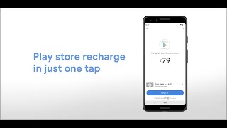 Google Pay | Play Store recharge in one tap