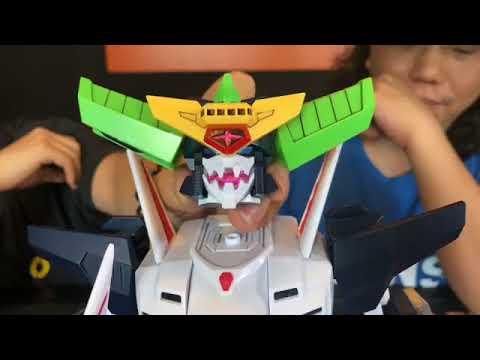 TOYSTV S6 EP3 P5「爆玩具」SUPER MINIPLA GaoGaiGar KING J-DER 勇者王超弩級戰艦 Unbox